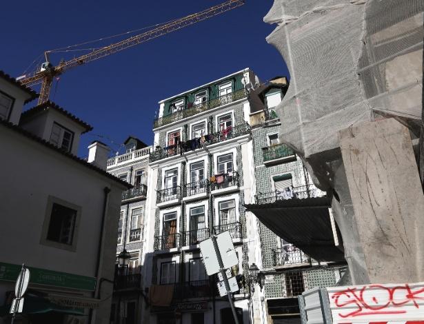 Renovações em Intendente, bairro conhecido por drogas e prostitutas, em Lisboa