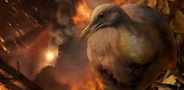 Ancestrais das aves conseguiram resistir ao meteoro que caiu no México e ocuparam as árvores
