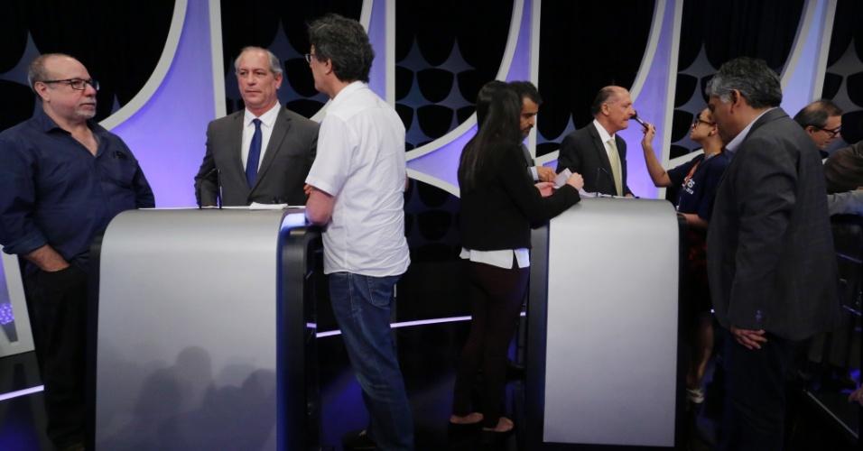 Bastidores do debate presidencial promovido pelo UOL, Folha e SBT