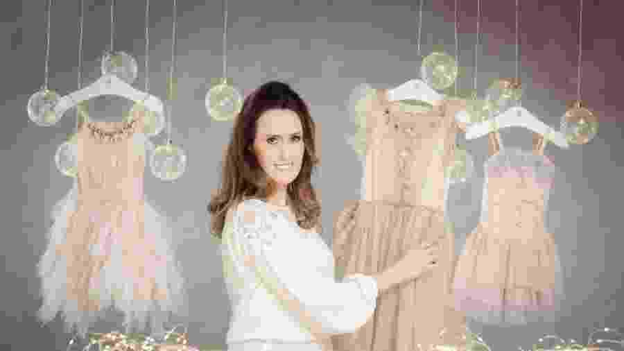 A empresária Elisa Morais (foto) criou a Antô Kids, de BH, de locação online de roupas e acessórios de alta-costura - Divulgação