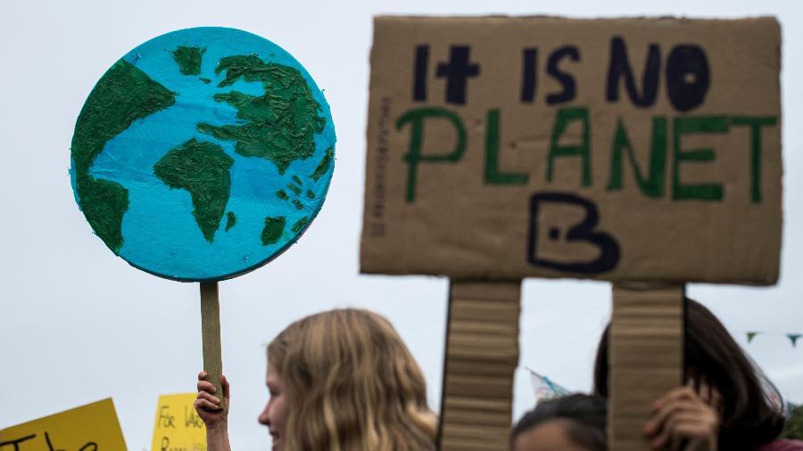 A capacidade de adaptação dos países às mudanças causadas pelo aquecimento global pode acabar, indica relatório - Jonathan Nackstrand/AFP