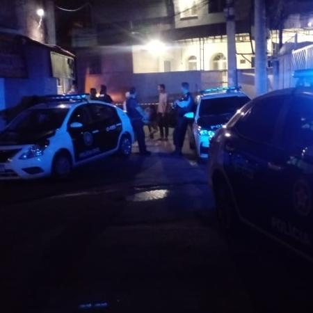 Reconstituição da morte de Ágatha Félix, no Complexo do Alemão, Rio de Janeiro - Pauline Almeida/Colaboração para o UOL