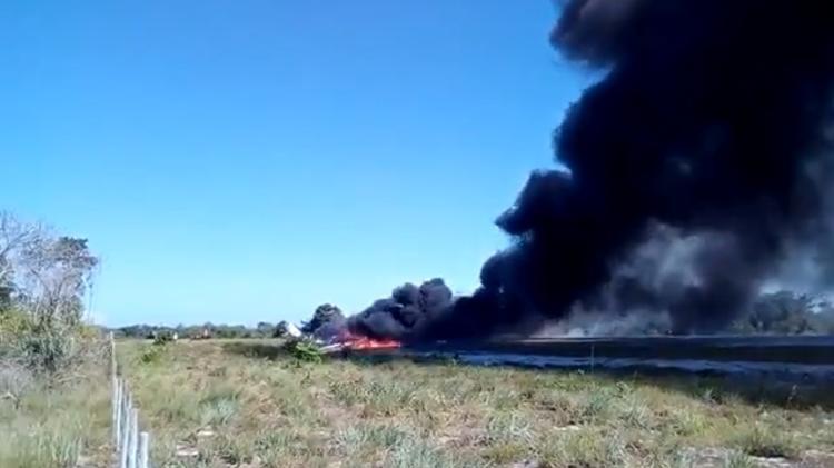Acidente deixou 3 mortos | 7 vítimas da queda de avião em Maraú (BA) continuam internadas