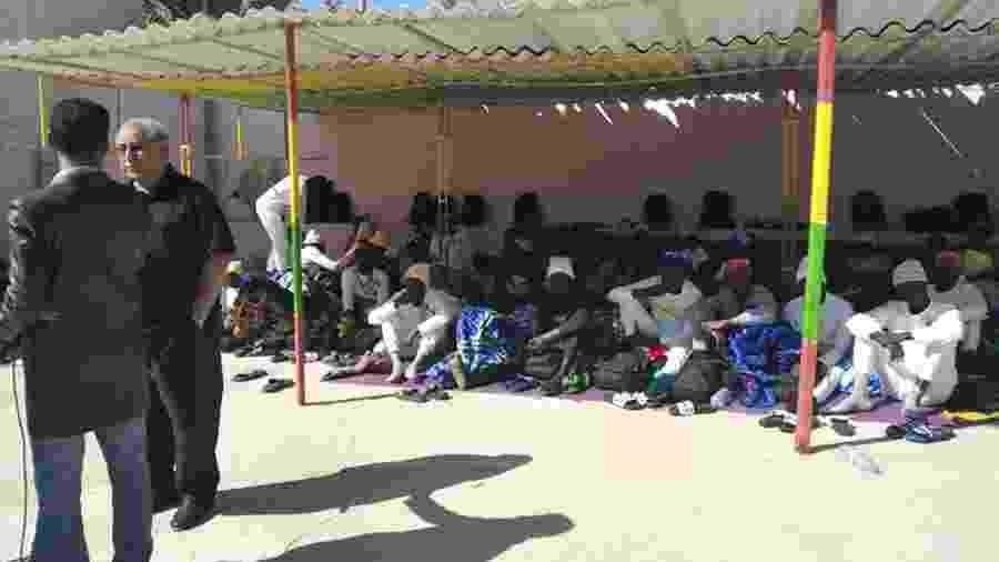 Os feridos foram levados para um hospital da cidade - AFP PHOTO /IOM (International Organization for Migration)