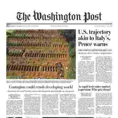 Washington Post - Divulgação - Divulgação