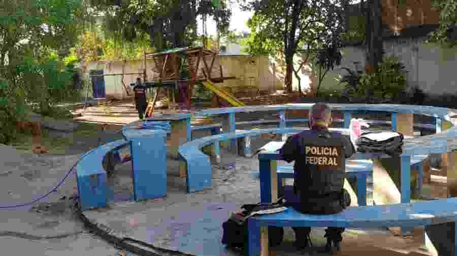 Local onde os arquivos de exploração sexual foram encontrados - Divulgação/PF