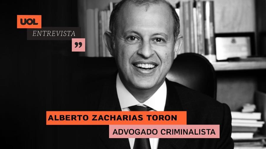 Advogado Alberto Toron no UOL Entrevista (05/08/20) - Arte/UOL