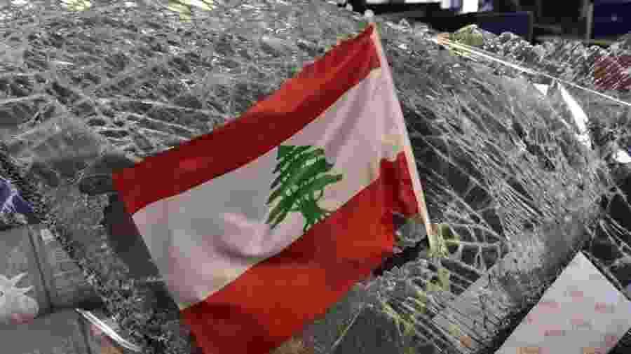 Premiê libanês renunciou ontem após crise acentuada pela explosão no Porto de Beirute - Anadolu Agency/Anadolu Agency via Getty Images