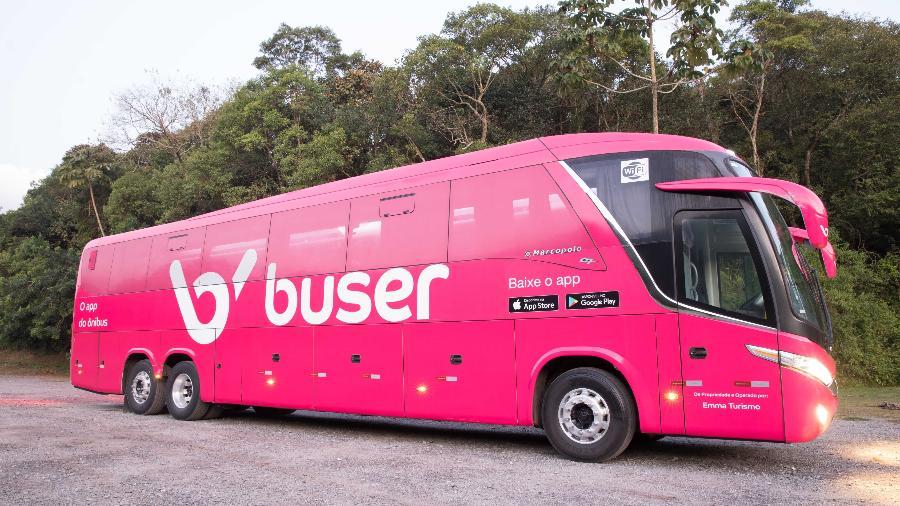 Ônibus da Buser - Divulgação/Buser