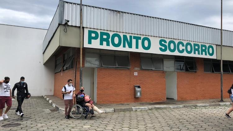 Pronto-Socorro do Hospital Municipal do Jabaquara, em São Paulo - Lucas Borges Teixeira/UOL - Lucas Borges Teixeira/UOL