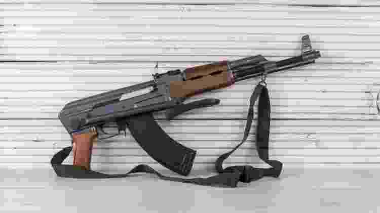 Fuzil de assalto Kalashnikov AK-47 - Getty Images - Getty Images
