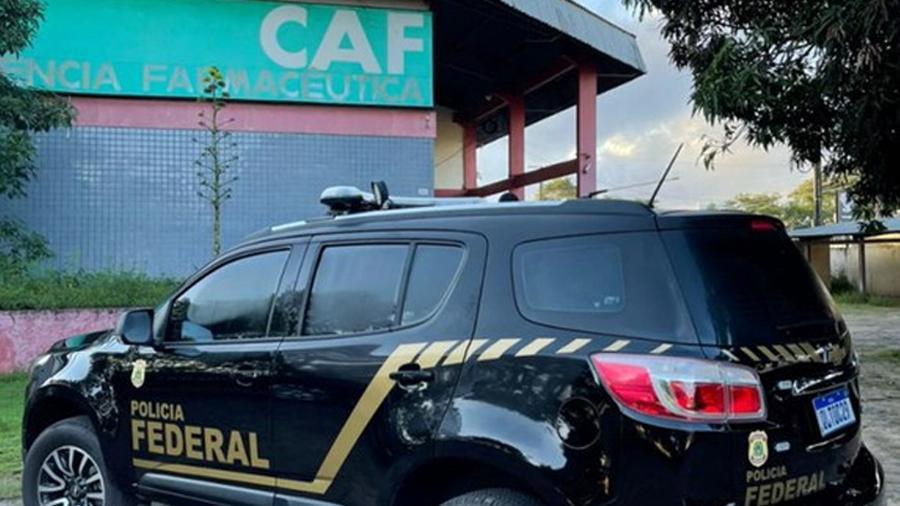 Operação Anestesia da Polícia Federal cumpre mandados de busca e apreensão na Central de Abastecimento Farmacêutico do Amapá - Divulgação/Polícia Federal