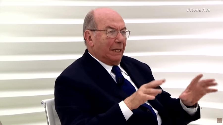 José Arthur Giannotti em entrevista ao programa Roda Viva em 2018 - Reprodução/TV Cultura