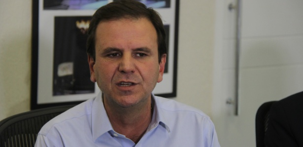 Ex-prefeito Eduardo Paes (PMDB)