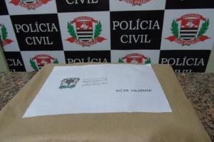 """Envelope usado como """"isca"""" pela Prefeitura de Presidente Venceslau para flagrar o falso conselheiro do TCE"""