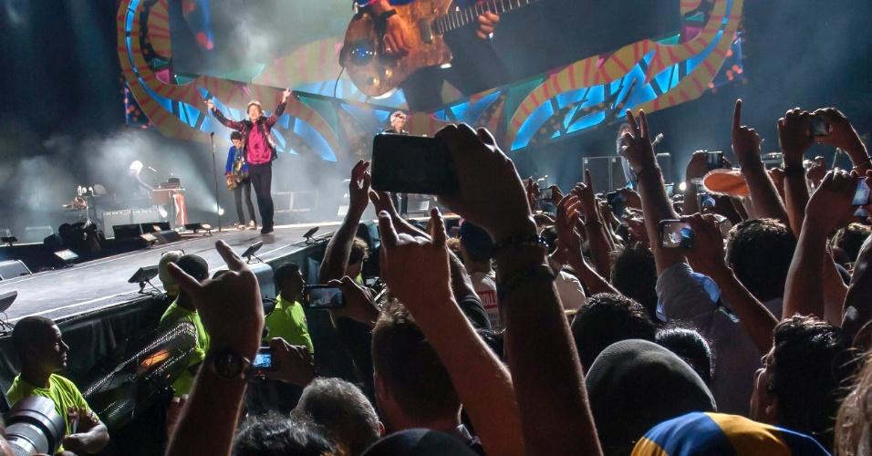 26.mar.2016 - Pela primeira vez, os Rolling Stones se apresentaram em Havana, capital de Cuba. O show foi assistido por um público estimado em mais de 100 mil pessoas e acontece na mesma semana em que o presidente Barack Obama visitou o país. 'Os tempos estão mudando', disse Mick Jagger