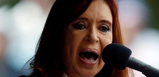 A ex-presidente argentina Cristina Kirchner - Marcos Brindicci/Reuters