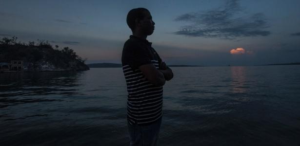 Guy Philippe, um dos mais temidos senhores da guerra no Haiti, em sua cidade natal Pestel