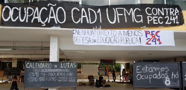 UFMG tem provas do Enem canceladas em prédios não ocupados por estudantes - Rayder Bragon/UOL