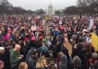 """Dicionário americano elege """"feminismo"""" como a palavra do ano - AFP PHOTO / Andrew CABALLERO-REYNOLDS"""
