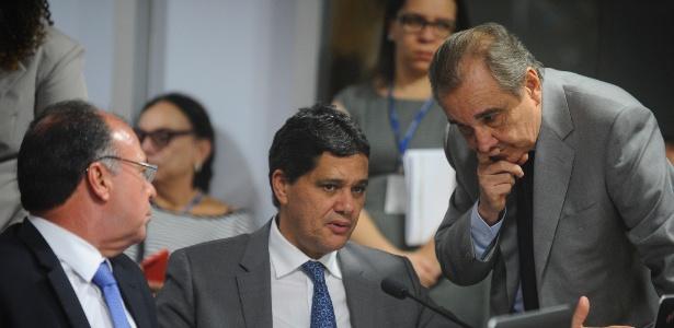 O senador Ricardo Ferraço (PSDB-ES) é o relator da reforma trabalhista na CAE
