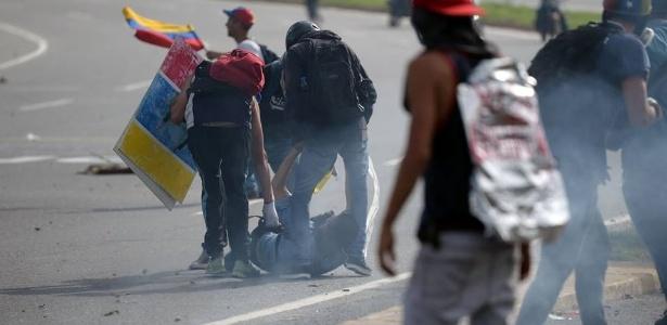 David José Vallenilla foi atingido por tiros durante protesto na Venezuela