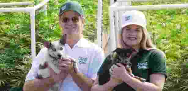 Alison Ettel e seu sócio Harry Rose fazem produtos médicos a base de maconha para seres humanos e animais - Alison Ettel