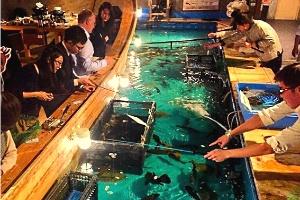 Restaurante em Nova York vai deixar o cliente pescar a própria comida (Foto: Reprodução/Instagram)