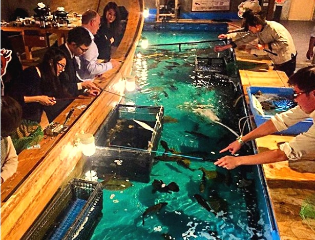 Restaurante já existe no Japão e é um sucesso