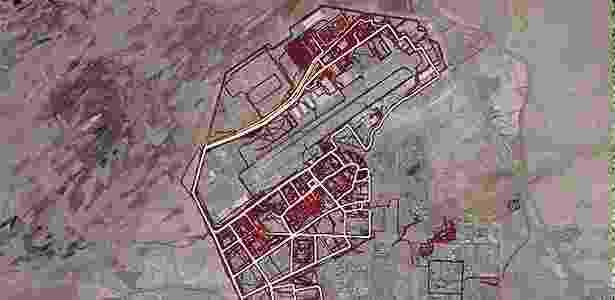Imagem mostra atividades físicas em área militar no Afeganistão - Reprodução