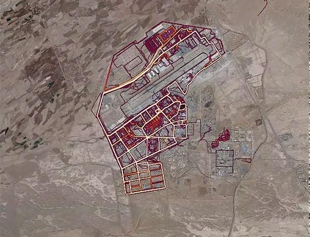Imagem mostra atividades físicas em área militar no Afeganistão