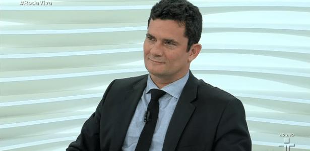 Juiz Sergio Moro participa do programa Roda Viva, da TV Cultura - Reprodução/TV Cultura