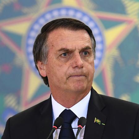 """Entidade criou uma espécie de """"disque-denúncia"""" para receber denúncias de ofensas contra o presidente Jair Bolsonaro - Evaristo Sa/AFP"""