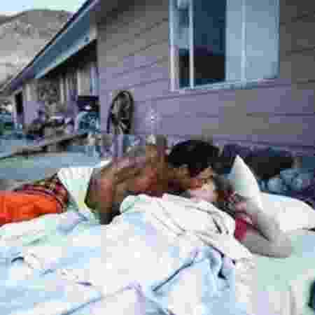 Após o terremoto de magnitude 7,1 na última sexta-feira, algumas casas nas cidades afetadas foram interditadas - Getty Images/BBC