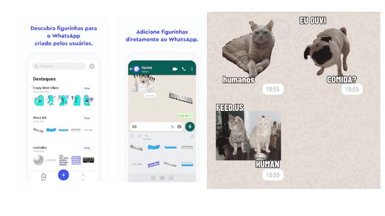 Sticker.LY - Stickers no WhatsApp - Reprodução - Reprodução
