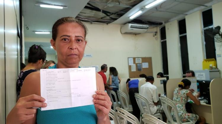 Claudivania dos Santos não conseguiu receber o Bolsa Família de novo após ter o benefício bloqueado - Carlos Madeiro/Colaboração para o UOL