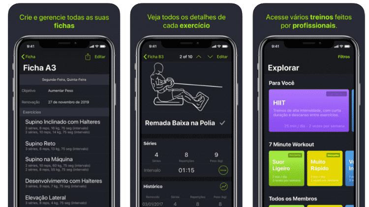 SmartGym - Veja apps que ajudam na rotina de exercícios - Reprodução - Reprodução