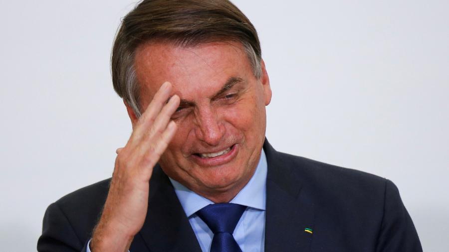 O presidente Jair Bolsonaro - ADRIANO MACHADO