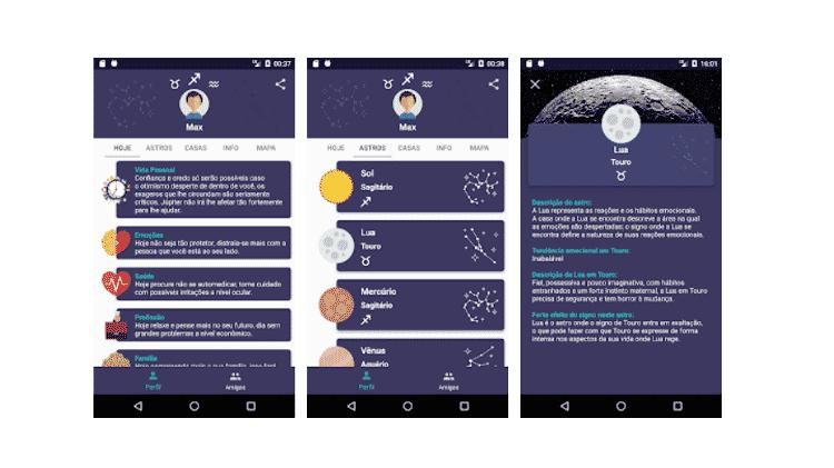 baixe estes apps - horos - Reprodução - Reprodução