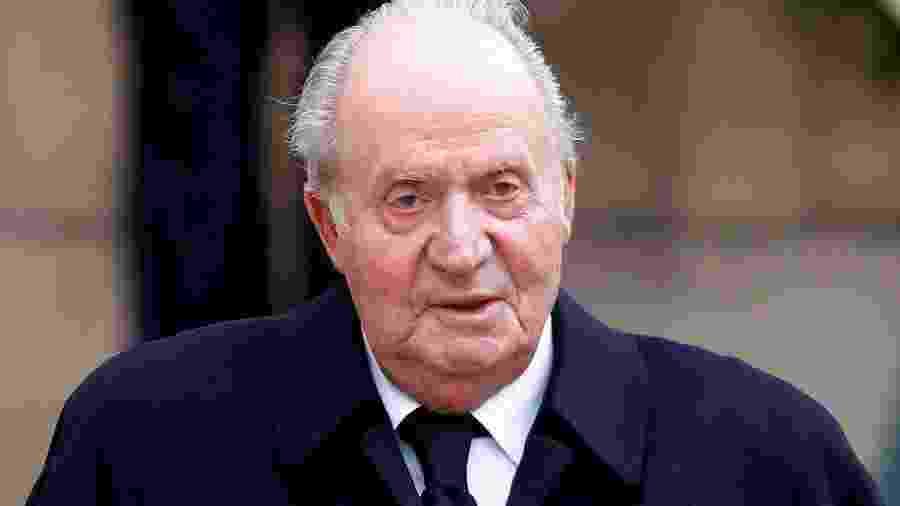 Ex-chefe de Estado de 82 anos anunciou sua saída da Espanha para um destino ainda desconhecido - JOHN THYS / Belga / AFP