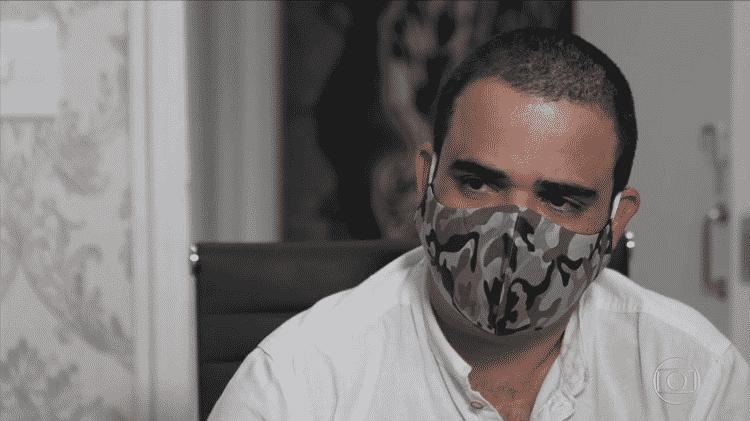 O microempresário José Maria, que atropelou e matou a ciclista Marina Harkot em São Paulo - Reprodução/TV Globo - Reprodução/TV Globo