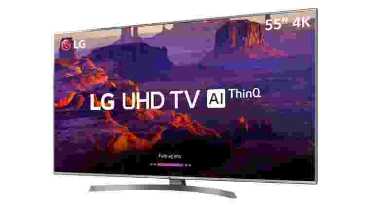 Smart TV LED 55'' PRO Ultra HD 4K LG - Divulgação - Divulgação