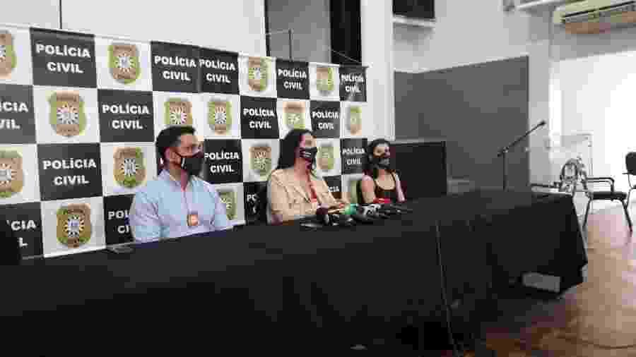 Entrevista coletiva do caso João Alberto ocorreu hoje em Porto Alegre - Hygino Vasconcellos/UOL