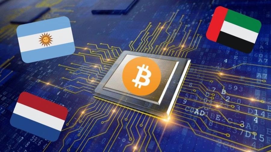 Ferramenta desenvolvida na Universidade de Cambridge estima que mineração de bitcoins consuma mais energia do que países inteiros, como Argentina, Holanda e Emirados Árabes - Getty Images