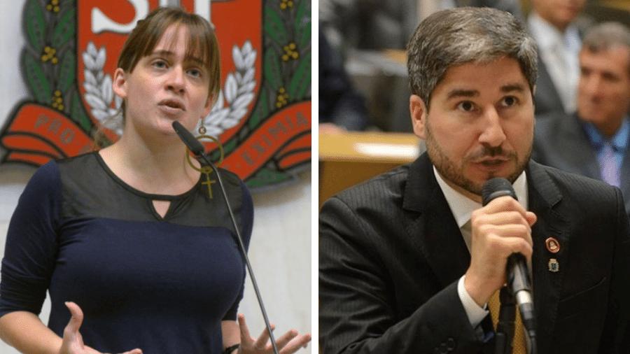 Cury foi punido com 119 dias de suspensão por importunação sexual contra a parlamentar Isa Penna  - José Antonio Teixeira/Alesp e Divulgação