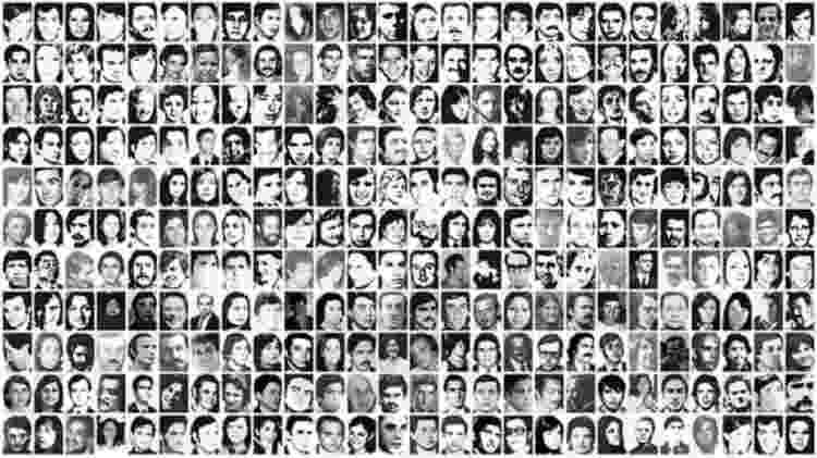 A maioria dos prisioneiros dos três centros de detenção onde Kalinec trabalhou nunca mais foram vistos - CONADEP - CONADEP
