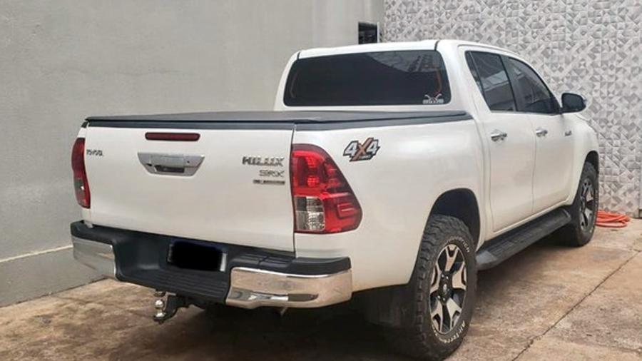 Veículo apreendido na Operação Grão Branco - Divulgação/Polícia Federal