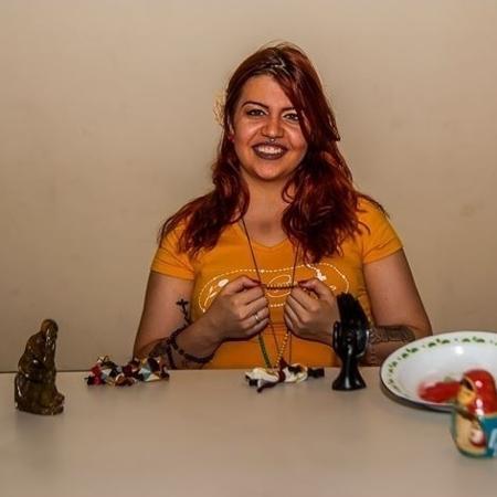 A benzedeira Pâmela Silva Souza é neta de benzedeiras - Prefeitura de Santo André