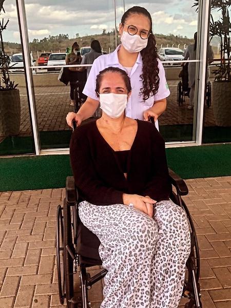 Cinthia Schiavini teve mal súbito e enfrentou parada cardíaca de 16 minutos - Arquivo pessoal