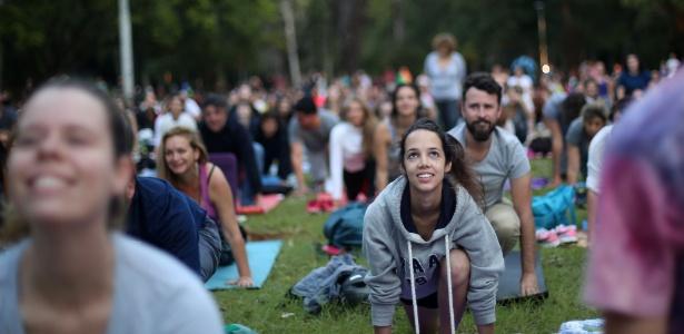 O parque Ibirapuera, na zona sul de SP, recebe mais de 200 mil pessoas toda semana